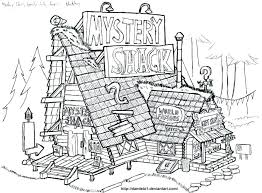 Gravity Falls Coloring Pages Stevensonnewsroomorg
