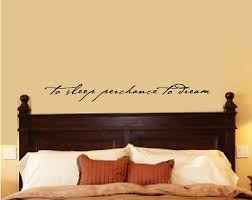 Bedroom Wall Quotes Magnificent Bedroom Wall Decal Bedroom Decor Shakespeare Quote To Sleep