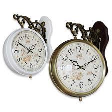 timco double sided wall clock ti twm001 eiken watch clock clocks kake時計 wood