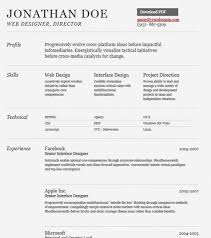 CV templates 1 Amazing Collection Of Free CV/Resume Templates