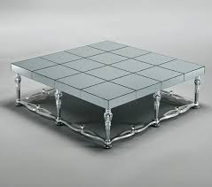 mirror glass coffee table mosaic mirror glass silver coffee tables full range in stock square design