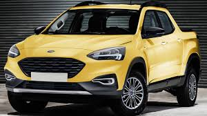 Ford Planning Focus-Based Pickup Truck To Slot Beneath Ranger