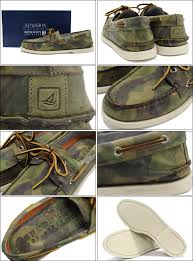 sperry top cider sperry top sider authentic original 2 eye camo leather men men