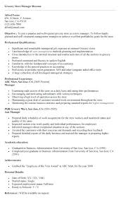 Cover Letter For Supermarket Job Resume Sample Sample To Write A