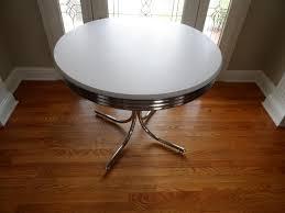 retro round kitchen table gallery table decoration ideas