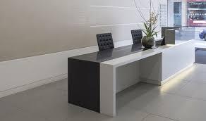 Bespoke reception desk design
