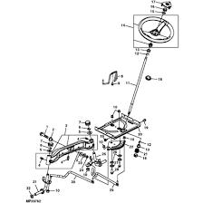 john deere g110 garden tractor parts john deere l100 series steering parts diagram