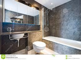 Modern Marble Bathroom Modern Marble Bathroom With Large Bath Tub Stock Photo Image