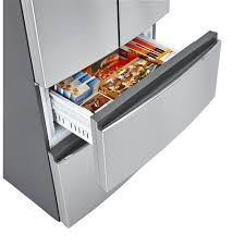 haier hrq16n3bgs. 15-cu.-ft. french-door refrigerator haier hrq16n3bgs