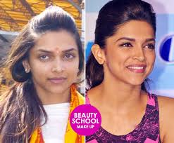 dark under eye circles deepika without makeup