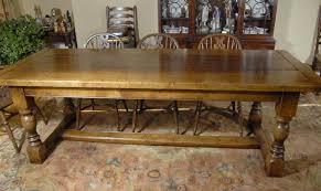 8 ft english oak farmhouse refectory table