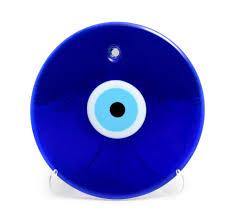 turkish eye bead blue