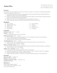 And Operations Executive Resume Entry Level Hvac Objective Sa