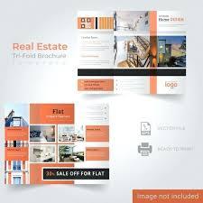 Real Estate Brochure Template Free Real Estate Brochure Template Vector Premium Download Tri