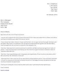 name surname travel consultant cover letter junior travel consultant resume