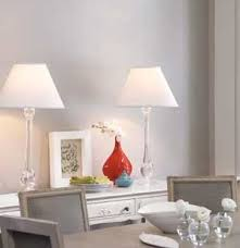 Image Kitchen Pair Of Lamps On Side Table In Dining Room Real Simple Interior Lighting Tips Real Simple
