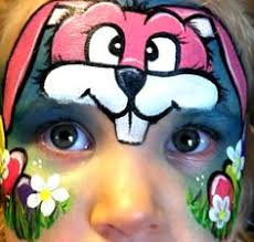 Small Picture Easter Bunny Face Paint Tutorial Halloween Rabbit Face Paint