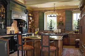 Kitchen Bookcase French Country Kitchen Wall Decor Black Countertop Minimalist Wood