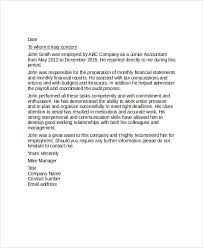 Sample Reference Letter For Coworker Examples In Pdf Word