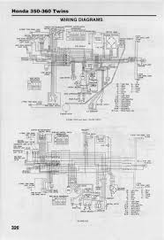honda cb cl microfiche wiring diagram cl 1970 later sl k1 k2