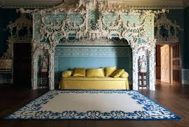 the rug company the cobalt rug by the brand is among a number of heavyweights that the rug company