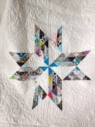 7 Stunning Wedding Quilt Ideas: Patterns & More & Breaking Clouds Star Quilt Pattern - available on Craftsy.com Adamdwight.com