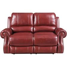 cambridge rustic wine double reclining console loveseat