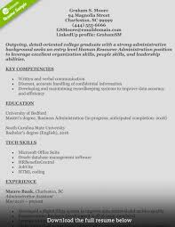 How To Write A Perfect Human Resources Resume Entry Level Objective ...