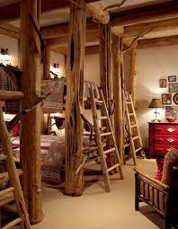 rustic bunk beds for sale cabin bed ideas kids log bedroom free plans canada