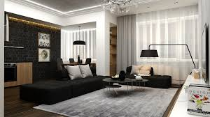 Interior Design Black And White Living Room 25 Modern Living Rooms With Cool Clean Lines