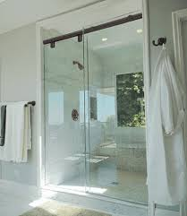 glass slider shower door