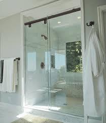 glass slider shower door