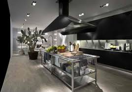 stainless steel feature for contemporary kitchen innovation