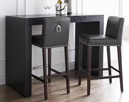 alder tweed weston bar stool grayleather gray leather stools