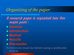 sample paper in apa style sample paper in apa style ppt  5 organizing of the paper a research paper is organized into five major parts abstract introduction method results discussion references must be listed