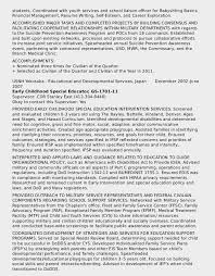 Examples Of Federal Resumes Sarahepps Com