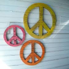 Peace Sign Decorating Ideas