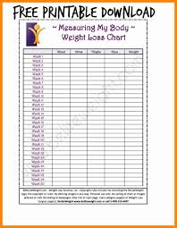 Weight Tracker Chart Printable 13 Fresh Printable Weight Loss Chart Davidklinghoffer Com