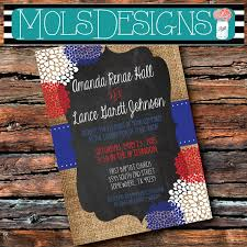 patriotic wedding invitations Wedding Invitations Red And Blue red white blue floral burlap invitation red white and blue wedding invitations