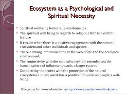sample essay protection of natural ecosystems is a psychological an  ecosystem aass aa ppssyycchhoollooggiiccaall