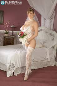 Busty BBW Fat Chubby Hairy Brunette Bride Christy Marks with Big.