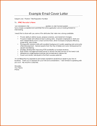 Sample Email To Send Resume To Recruiter Sample Email to Recruiter with Resume Sample Email Recruiter with 20