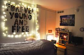 Bedroom:Attic Bedroom Idea With Christmas Lighting Idea Tumblr Bedroom  Lights With Fairy Light Idea