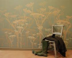 large wall stencils painting