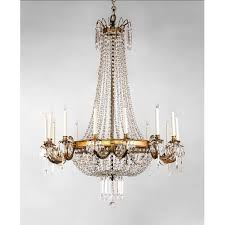 french style lighting french chandelier regency style 14 light ormolu and crystal sold ruby