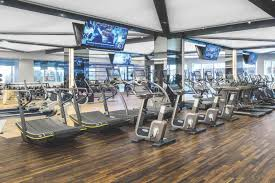 an image depicting life time s wide variety of cardio machines