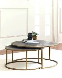 glass nesting coffee tables nesting coffee table gold glass nesting coffee table round glass nesting coffee