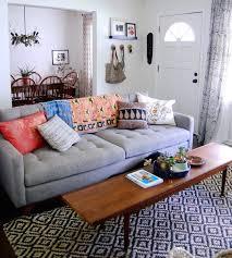 bohemian narrow coffee table 15