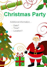 Microsoft Christmas Party Microsoft Word Editable Poster Ideal To Advertise A Christmas Party