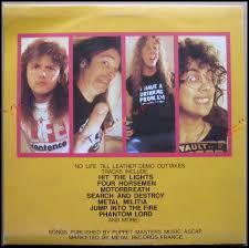 Metallica Hit The Lights Demo Totally Vinyl Records Metallica Metal Militia Lp